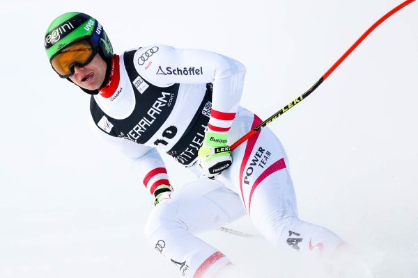 Hard when racing - ski racer Christoph Krenn